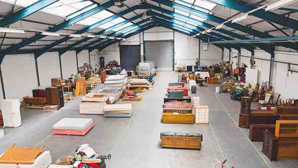 The Arches warehouse shop floor