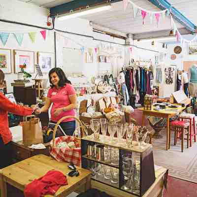 The Arches Attic shop in action
